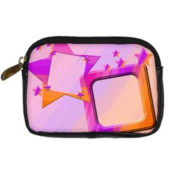 Stars1 By Add In Goodness And Kindness   Digital Camera Leather Case   8srtrljl8c38   Www Artscow Com Front