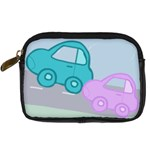 cars - Digital Camera Leather Case
