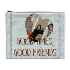 Friends Xl Cosmetic Bag By Lil    Cosmetic Bag (xl)   6mwhozn0ibkq   Www Artscow Com Front