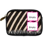 Zebra skin - Camara leather case - Digital Camera Leather Case