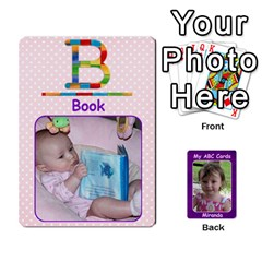 Abc Family Cards For Miranda By Debra Macv   Playing Cards 54 Designs   V3gzkope2prz   Www Artscow Com Front - Spade4