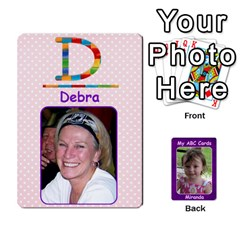 Abc Family Cards For Miranda By Debra Macv   Playing Cards 54 Designs   V3gzkope2prz   Www Artscow Com Front - Spade9