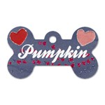 Hearts Dog Tag - Dog Tag Bone (Two Sides)