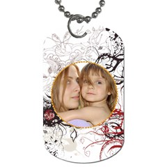 Pattern  Tag By Wood Johnson   Dog Tag (two Sides)   53693f3xfdyg   Www Artscow Com Back