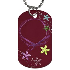 Friends Dog Tag By Mikki   Dog Tag (two Sides)   Vctcvvsi095q   Www Artscow Com Front