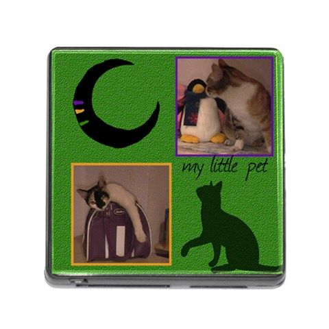 My Little Pet   Memory Card Reader By Carmensita   Memory Card Reader (square)   3684b4kqd9rd   Www Artscow Com Front