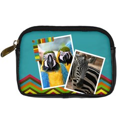 Colors   Camera Leather Case   By Carmensita   Digital Camera Leather Case   5wutv07i66lr   Www Artscow Com Front