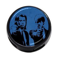 Pulp Fiction Usb Hub By Jorge   4 Port Usb Hub (two Sides)   Gkr5mcb5zkky   Www Artscow Com Front