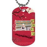 d tag - Dog Tag (Two Sides)