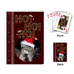 Ho Ho Ho Playing Cards - Playing Cards Single Design