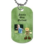 Austin tag - Dog Tag (Two Sides)