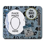 40th Birthday Mousepad - Large Mousepad