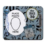 70th Birthday Mousepad - Large Mousepad