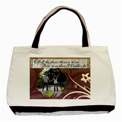 home  Tote By Lil    Basic Tote Bag (two Sides)   2859robjh305   Www Artscow Com Back