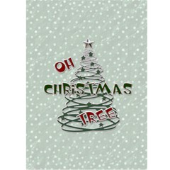 Bah Humbug Christmas Card By Lil    Greeting Card 5  X 7    A72zq2emue00   Www Artscow Com Front Inside