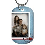 We are family tag - Dog Tag (One Side)