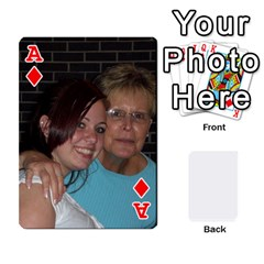 Ace Card Deck By Pamela Yelverton   Playing Cards 54 Designs   Flojg3gr5g5h   Www Artscow Com Front - DiamondA