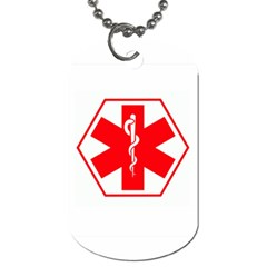 Medic Alert Dog Tag To Customise The Reverse With Your Text By Catvinnat   Dog Tag (two Sides)   17656iryn7o0   Www Artscow Com Front