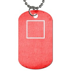 Medic Alert Dog Tag To Customise The Reverse With Your Text By Catvinnat   Dog Tag (two Sides)   17656iryn7o0   Www Artscow Com Back