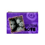 Unconditional love violet - Cosmetic Bag (Medium)