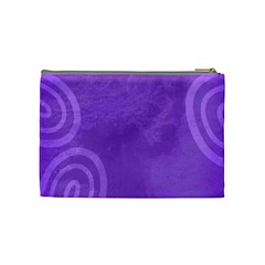 Unconditional Love Violet   Cosmetic Bag (medium)   By Carmensita   Cosmetic Bag (medium)   T2mpzx19c9ff   Www Artscow Com Back