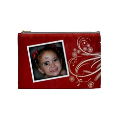 Medium Makeup Bag By Amanda Bunn   Cosmetic Bag (medium)   855lzdpofs4x   Www Artscow Com Front