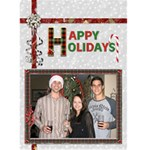 Happy Holidays Christmas Card - Greeting Card 5  x 7