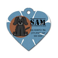 Dog Tag Sample By Brookieadkins Yahoo Com   Dog Tag Heart (two Sides)   4s0qp1xyvznl   Www Artscow Com Back