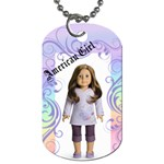 brigette bday tag - Dog Tag (Two Sides)
