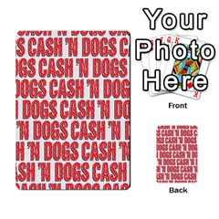 2010 Black Vienna 2 Cash And Dogs Kb By Steve Sisk   Multi Purpose Cards (rectangle)   1cl187jnh967   Www Artscow Com Back 21