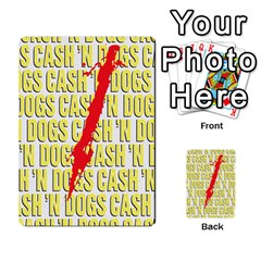 2010 Black Vienna 2 Cash And Dogs Kb By Steve Sisk   Multi Purpose Cards (rectangle)   1cl187jnh967   Www Artscow Com Back 48