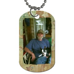 Genes By Shelly Guinn   Dog Tag (two Sides)   3ru1t3jacpq5   Www Artscow Com Front