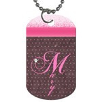 pinkdog tag - Dog Tag (Two Sides)