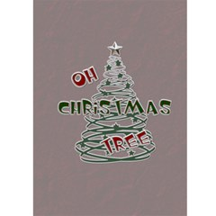 White Christmas  Card by Lil Front Inside