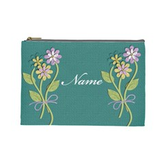 Cosmetic Case  Large  Template By Jennyl   Cosmetic Bag (large)   Rsm7bme5g7iu   Www Artscow Com Front