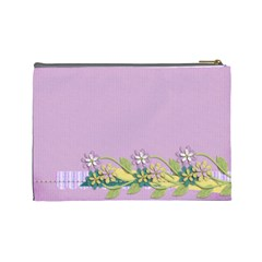 Cosmetic Case  Large  Template By Jennyl   Cosmetic Bag (large)   Pwuu1rzobqzl   Www Artscow Com Back
