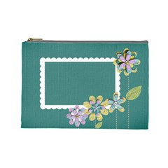 Cosmetic Case  Large  Template By Jennyl   Cosmetic Bag (large)   74whlacwrj8y   Www Artscow Com Front