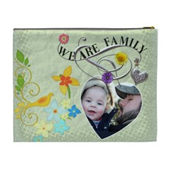Family Xl Cosmetic Bag By Lil    Cosmetic Bag (xl)   Icfcd1598tjp   Www Artscow Com Back