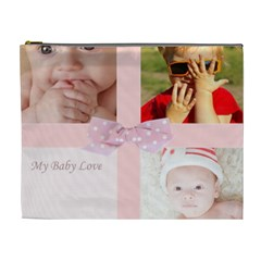 My Baby Love By Joely   Cosmetic Bag (xl)   9leuqd8d4uva   Www Artscow Com Front