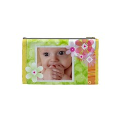 Flower Baby By Joely   Cosmetic Bag (small)   3tqt1rs69cd9   Www Artscow Com Back
