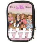 It s A Girl Thing - Compact Camera Leather Case