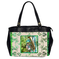 Art Nouveau Greensleves Oversized Office Bag By Catvinnat   Oversize Office Handbag (2 Sides)   Qgroj9iq6qa4   Www Artscow Com Front