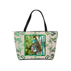 Art Nouveau Eden Classic Shoulder Bag By Catvinnat   Classic Shoulder Handbag   Etsvf4qgkjip   Www Artscow Com Back