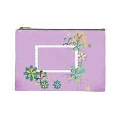 Cosmetic Bag (large)  Template By Jennyl   Cosmetic Bag (large)   Kuuofozhw1n7   Www Artscow Com Front