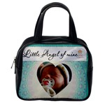 Little Angel of Mine Blue Bag - Classic Handbag (One Side)