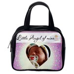Little Angel of Mine Pink Bag - Classic Handbag (One Side)