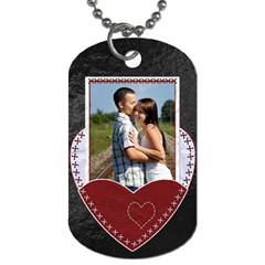 Sweet Heart Dog Tag By Lil    Dog Tag (two Sides)   54m37x7e0xrz   Www Artscow Com Front