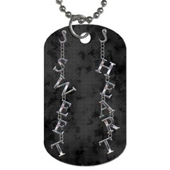 Sweet Heart Dog Tag By Lil    Dog Tag (two Sides)   54m37x7e0xrz   Www Artscow Com Back