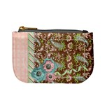 Mini Coin Purse-Pink Paisley