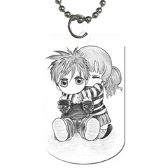 Friends By Andy   Dog Tag (two Sides)   P3pcontir8s1   Www Artscow Com Front